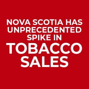 Nova Scotia Cigarette Sales