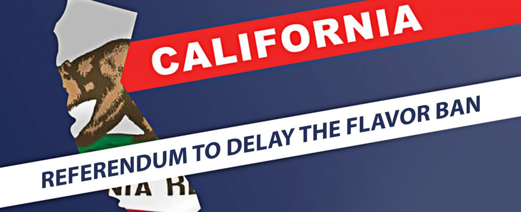 The Referendum has Delayed the California Flavor Ban